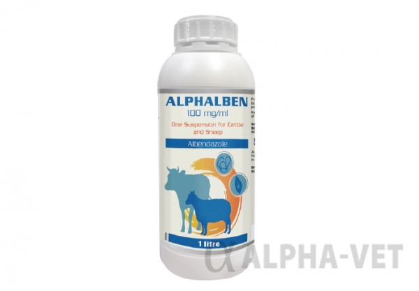 Alphalben 100 mg/ml Oral Suspension for Cattle and Sheep